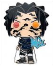 "Naruto: Shippuden - Sasuke Curse Mark 4"" Pop! Enamel Pin | Merchandise"
