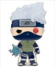 "Naruto: Shippuden - Kakashi with Lightning Blades 4"" Pop! Enamel Pin | Merchandise"