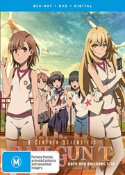 A Certain Scientific Railgun - Season 3 - Part 1 - Eps 1-12 | Blu-ray + DVD | Blu-ray