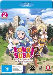 Konosuba - God's Blessing On This Wonderful World! - Season 2 | + OVA | Blu-ray