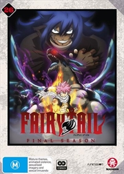 Fairy Tail - Collection 26 - Eps 317-328 | Final Season | DVD