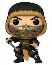 Mortal Kombat (2021) - Scorpion Metallic Pop! Vinyl | Pop Vinyl