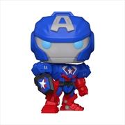 "Captain America - Marvel Mech 10"" US Exclusive Pop! Vinyl [RS] | Pop Vinyl"