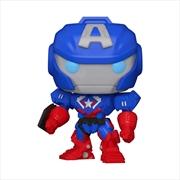 Captain America - Marvel Mech Glow US Exclusive Pop! Vinyl [RS] | Pop Vinyl