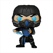 Mortal Kombat (2021) - Sub-Zero Glow US Exclusive Pop! Vinyl [RS] | Pop Vinyl