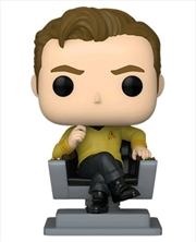 Star Trek: The Original Series - Captain Kirk in Chair Pop! Vinyl | Pop Vinyl