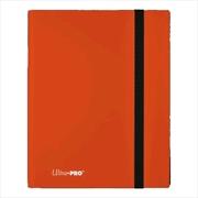 Ultra Pro - Eclipse Pro Binder (Orange) | Games