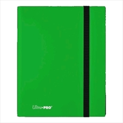 Ultra Pro - Eclipse Pro Binder Lime Green | Games