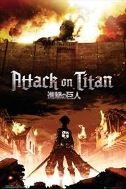 Attack On Titan Key Art | Merchandise