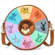 Loungefly - Pokemon - Eevee Evolutions Canteen Crossbody | Apparel