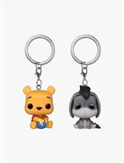 Winnie the Pooh - Winnie & Eeyore US Exclusive Pop! Keychain 2 pack [RS] | Pop Vinyl