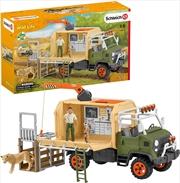 Schleich Figure - Animal Rescue Large Truck | Merchandise