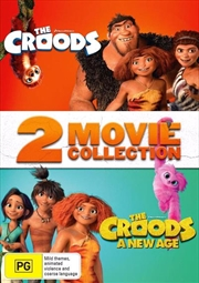 Croods / The Croods - A New Age | 2 Movie Franchise Pack, The | DVD