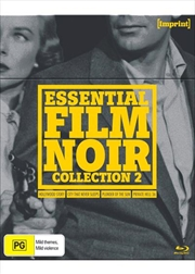 Essential Film Noir - Collection 2 | Imprint Collection 45, 46, 47, 48 | Blu-ray