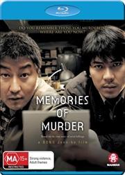 Memories Of Murder | Blu-ray