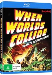 When Worlds Collide   Blu-ray