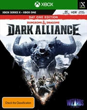 Dungeons and Dragons Dark Alliance Day One | XBOX Series X
