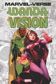 Marvel-Verse: Wanda & Vision   Paperback Book