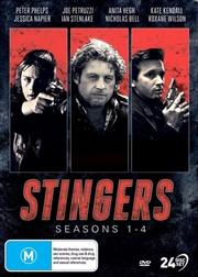 Stingers - Season 1-4 | Complete Series | DVD