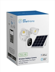 Wireless Outdoor Camera Adjustable Floodlights And Solar Panels  | Miscellaneous