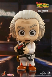Back to the Future - Doc Brown Cosbaby | Merchandise