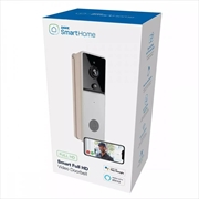 Laser Smart Home Full HD Video Doorbell - White | Miscellaneous