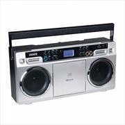 Laser - Ghetto Blaster CD Boombox | Accessories