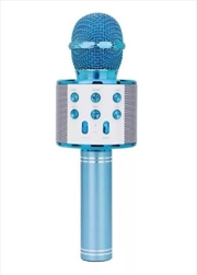 Laser - LED Karaoke Microphone Blue | Hardware Electrical