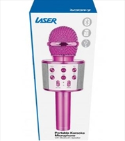 Led Karaoke Microphone Purple | Hardware Electrical
