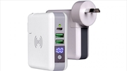 Laser Wireless Travel Wall Charger Powerbank | Accessories