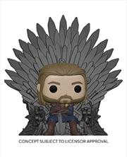 Game of Thrones - Ned Stark on Throne Pop! Deluxe | Pop Vinyl