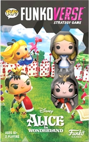 Funkoverse - Alice in Wonderland 2-pack Expandalone Game | Merchandise