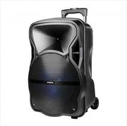 """Laser - 12"""" Party Speaker With Trolley 
