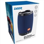 Laser - Bluetooth Speaker With Phone Holder - Blue | Accessories