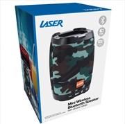Laser - Bluetooth Speaker With Phone Holder - Camo | Accessories