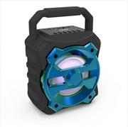 Laser - Bluetooth Speaker - Blue | Accessories