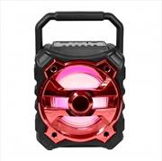 Laser - Bluetooth Speaker - Red | Accessories