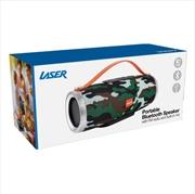 Laser - Bluetooth Tube Speaker - Camo | Accessories