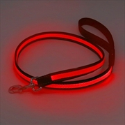 Laser - Mighty Pet Rechargeable LED Reflective Lead - Red | Merchandise