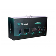 Laser - Headphone/ Keyboard/ Mouse/ Mouse Pad Gaming Bundle | Miscellaneous