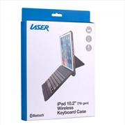 Laser iPad 10.2 inch Wireless Keyboard Case - Black | Accessories