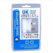 Laser Travel Adaptor using in UK, HK, Malaysia | Accessories