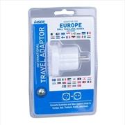 Laser Travel Adaptor using in EU Countries | Accessories