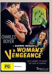 A Woman's Vengeance   DVD