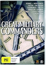 Great Military Commanders   DVD