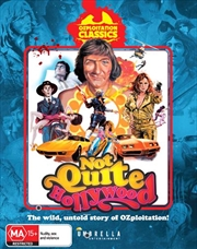 Not Quiet Hollywood - The Wild, Untold Story Of Ozploitation   Blu-ray