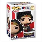 Wonder Woman - Wonder Woman Red Son 80th Anniversary US Exclusive Pop! Vinyl | Pop Vinyl