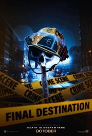 Final Destination 6 - Death Is Everywhere   DVD