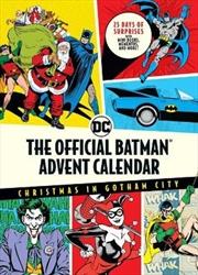 Official Batman Advent Calendar | Hardback Book