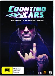 Counting Cars - Heroes and Horsepower | DVD